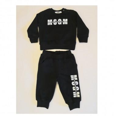 MSGM Black Baby Set - MSGM ms027268-nero-msgm21