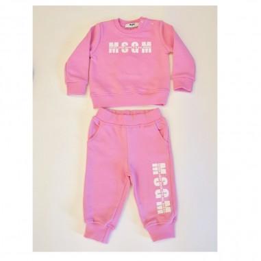 MSGM Pink Baby Set - MSGM ms027268-rosa-msgm21