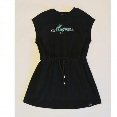 MSGM Black Dress - MSGM ms026837-nero-msgm21