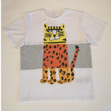 Stella McCartney Kids T-Shirt Bianca - Stella McCartney Kids 602241sqj21-stellakids21