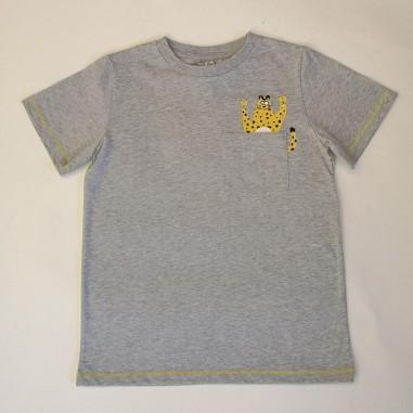Stella McCartney Kids T-Shirt Grigia - Stella McCartney Kids 602241sqj12-stellakids21