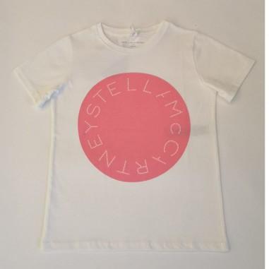 Stella McCartney Kids Logo T-Shirt - Stella McCartney Kids 602648sqjf7-stellakids21