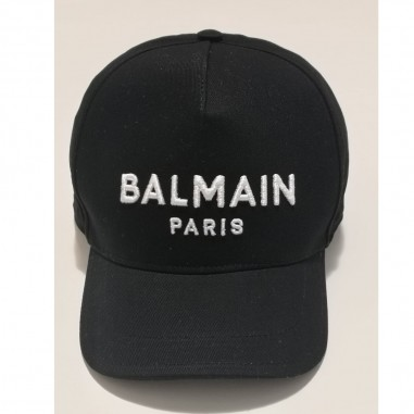 Balmain Kids Cappello Nero - Balmain 6m0787-mx560-1-nero-balmain21