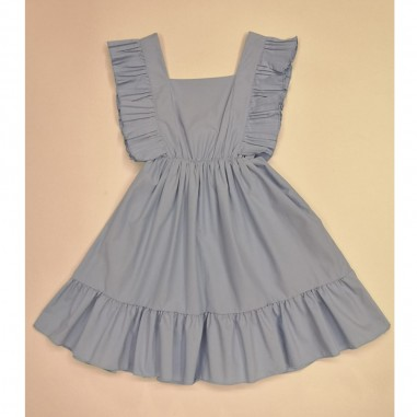 Dixie Kids Light Blue Dress - dixie ab34270g30-dixie21