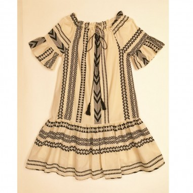 Dixie Kids Short Sleeve Dress - dixie ab27084g30-dixie21