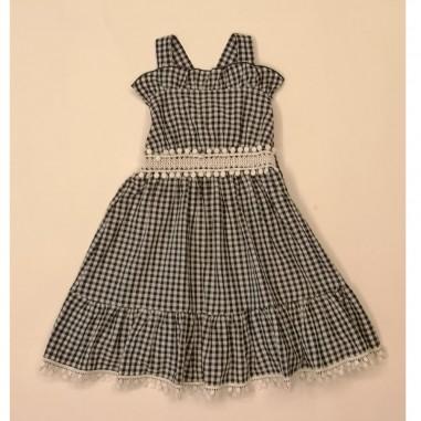 Dixie Kids Checked Dress - dixie ab41273g30-dixie21
