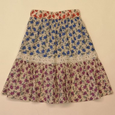Dixie Kids Floral Skirt - dixie gb08084g30-dixie21
