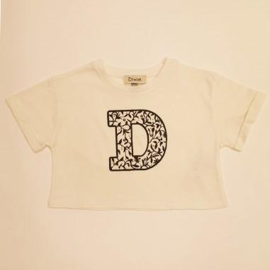 Dixie Kids T-Shirt Lettera  - Dixie mb65030g30-dixie21