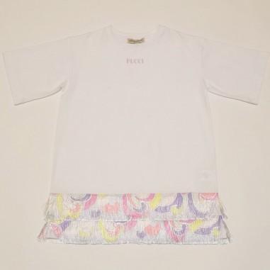 Emilio Pucci Junior White Dress - Emilio Pucci 9o1201-oc200-2-pucci21