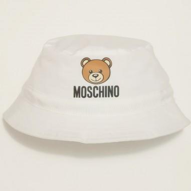 Moschino Kids Cappello Bianco - Moschino Kids myx032-bianco-moschinokids21