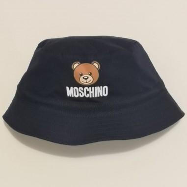 Moschino Kids Blue Hat - Moschino Kids myx032-blu-moschinokids21
