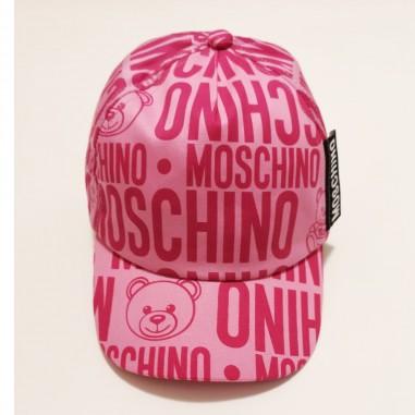 Moschino Kids Fucsia Cap - Moschino Kids h8x001-fucsia-moschinokids21