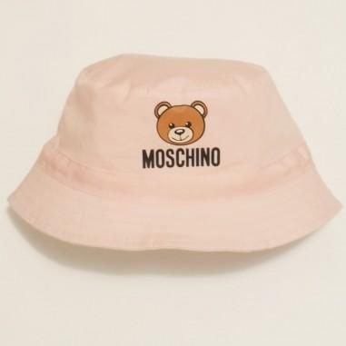 Moschino Kids Pink Hat - Moschino Kids myx032-rose-moschinokids21