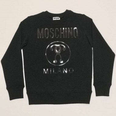 Moschino Kids Felpa Nera - Moschino Kids hyf039-moschinokids21