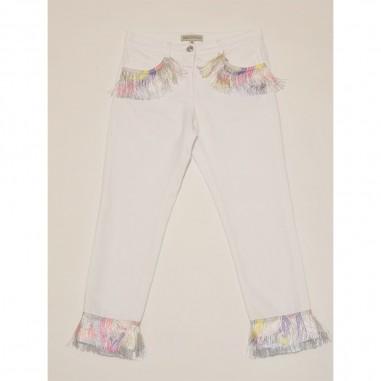 Emilio Pucci Junior Pantalone Bianco - Emilio Pucci 9o6151-oc190-3-pucci21