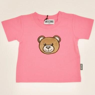 Moschino Kids T-Shirt Camelia - Moschino Kids mum02i-camelia-moschinokids21
