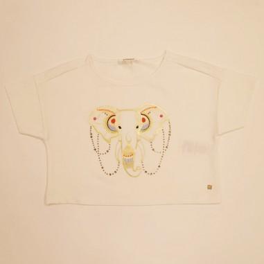 Kocca White Cropped T-Shirt - Kocca sheba-kocca21