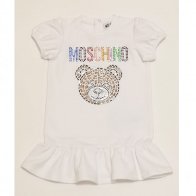 Moschino Kids Baby Girls Dress - Moschino Kids mdv08u-moschinokids21