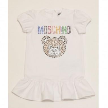 Moschino Kids Vestito Neonata - Moschino Kids mdv08u-moschinokids21