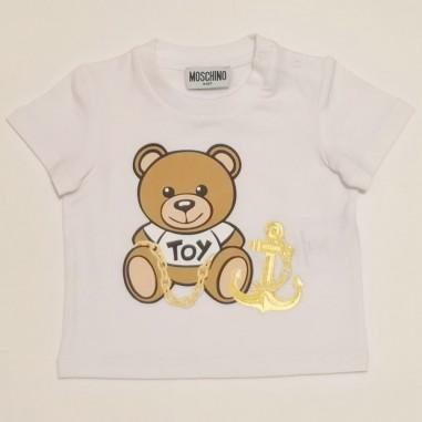 Moschino Kids T-Shirt Neonato - Moschino Kids mdm02u-moschinokids21