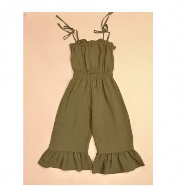 Dixie Kids Green Jumpsuit - dixie tc02300g30-dixie21
