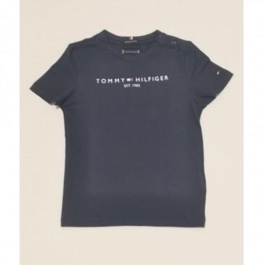 Tommy Hilfiger Kids T-Shirt Navy - Tommy Hilfiger Kids kb0kb05844-c87tommy21