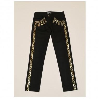 Moschino Kids Black Trousers - Moschino Kids hcp005-moschinokids21