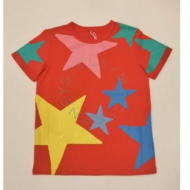 Stella McCartney Kids Stars T-Shirt - Stella McCartney Kids 602652sqjc3-stellakids21