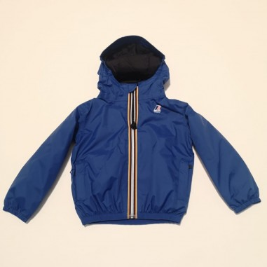 K-Way Le Vrai 3.0 Claude Warm Blu - K-way k00bei0-618-kway21