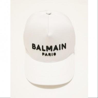 Balmain Kids Cappello Bianco - Balmain 6m0787-mx560-1-bianco-balmain21