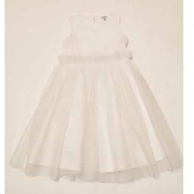 Piccola Ludo White Dress - Piccola Ludo iolite-piccolaludo21