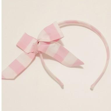 Piccola Ludo White Pink Headband - Piccola Ludo ferilli-biancorosa-piccolaludo21