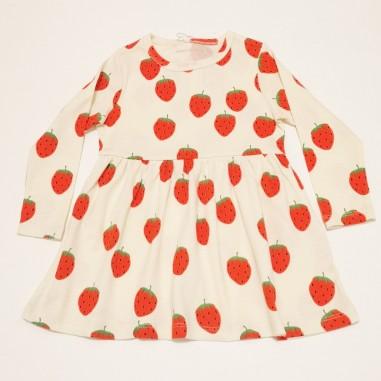 Mini Rodini Strawberry Dress - Mini Rodini 2125013611minirodini21