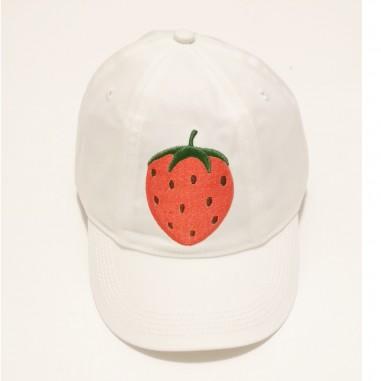 Mini Rodini Strawberry Hat - Mini Rodini 2126510511minirodini21