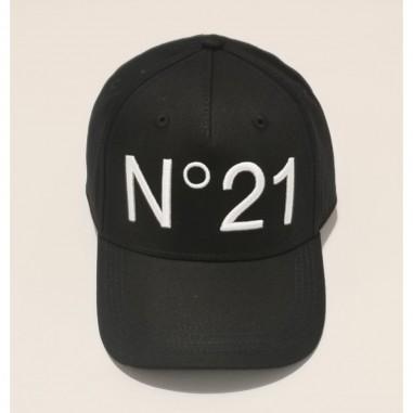 N.21 Kids Cappello Nero - N.21 Kids n2143f-n21kids21