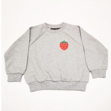 Mini Rodini Grey Sweatshirt - Mini Rodini 2122017494minirodini21