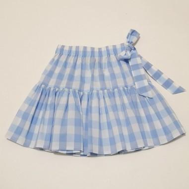 Piccola Ludo White Skirt - Piccola Ludo zircone-piccolaludo21