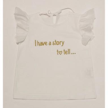 Zhoe & Tobiah White T-Shirt - Zhoe & Tobiah je8-zhoetobiah21