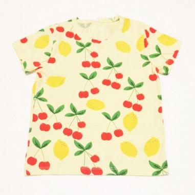 Mini Rodini T-Shirt Ciliege - Mini Rodini 2122012723minirodini21