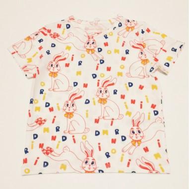 Mini Rodini T-Shirt Bunny - Mini Rodini 2122013211minirodini21