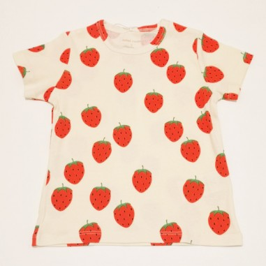 Mini Rodini T-Shirt Strawberry - Mini Rodini 2122012611minirodini21