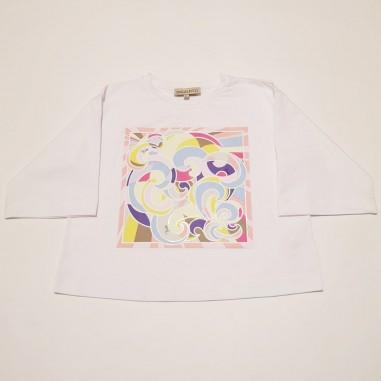 Emilio Pucci Junior T-Shirt Over - Emilio Pucci 9o8191-oc200-2-pucci21