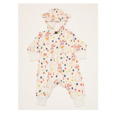 Mini Rodini Bunny Babysuit - Mini Rodini 2124014311minirodini21