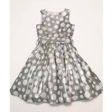 Piccola Ludo Grey Dress - Piccola Ludo olmo-grigio-piccolaludo21