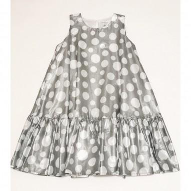 Piccola Ludo Grey Dress - Piccola Ludo campanella-piccolaludo21