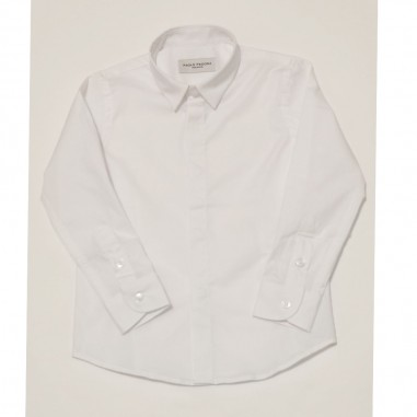 Paolo Pecora White Shirt - Paolo Pecora pp2126-21e-paolopecora21