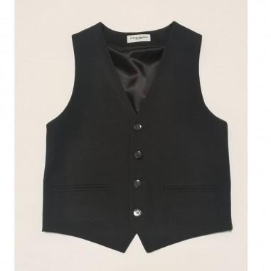 Paolo Pecora Black Waistcoat - Paolo Pecora pp2568-nero-paolopecora21