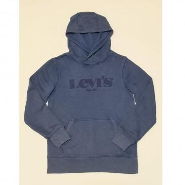 Levi's Blue Hoodie - Levi's lk9ec788-blue-levis21