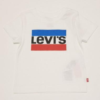 Levi's White Logo T-Shirt - Levi's lk8e8568-bianco-levis21