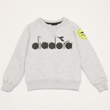 Diadora Grey Sweatshirt - Diadora 26966-grigio-diadora21